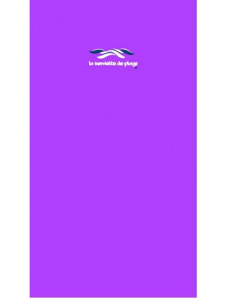 Serviette de ban Uni Violet