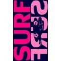 Drap de plage Surf Surf Rose