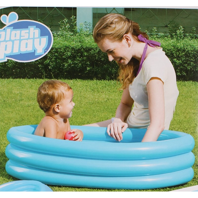 Piscine ovale 3 boudins fond gonflable - Piscine ovale gonflable ...