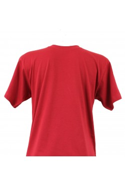 T-shirt homme cerise col rond