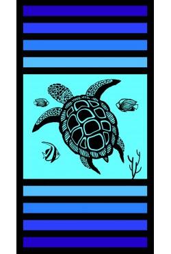 Serviette de plage Sandy Tortoise