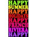 Drap de plage Happy Summer