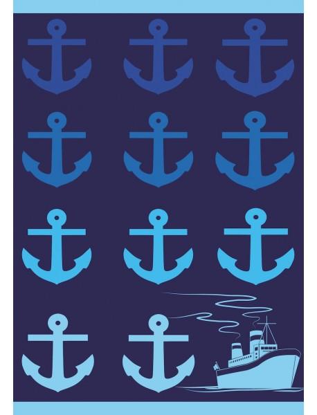 Drap de plage maxi format Cruising
