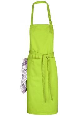 Tablier ajustable Zora citron vert