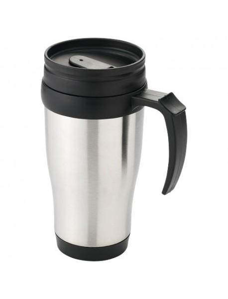 Mug Isotherme Sanibel Noir Argent