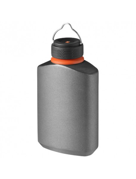 Flasque Anti-Fuite Warden Gris Noir Orange