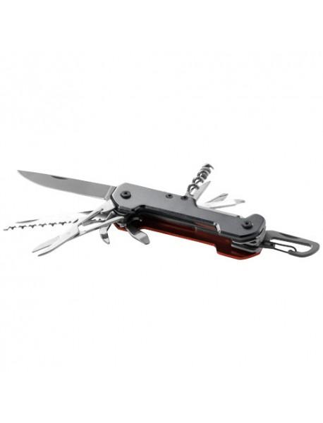 Couteau de poche 13-en-1 Haiduk Gris Noir Orange