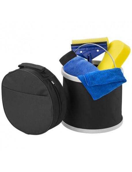 Kit de lavage de voiture 6 pièces Noir