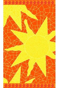 Serviette de plage Mosaic Sun