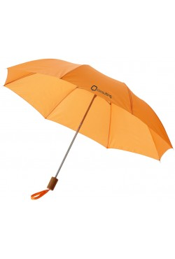 "Parapluie 2 sections 20"", orange"