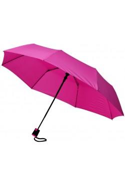 """Parapluie 3 sections ouverture automatique 21"""", fuchsia"""