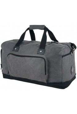 Sac week end Hudson, gris / noir