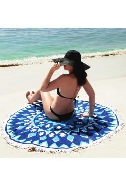 Serviette de plage ronde H6