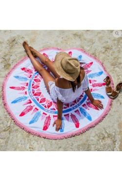 Serviette de plage ronde Vahema