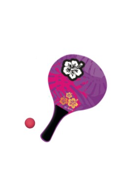 Beach ball Hibiscus Violet
