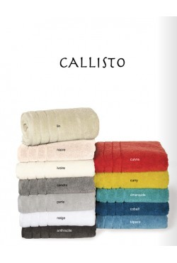 Linge de bain Callisto couleur Curry