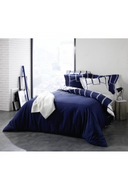 Housse de couette + taie Riviera Marine