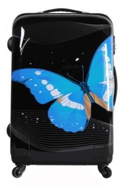 Valise Cabine 55cm Papillon Black
