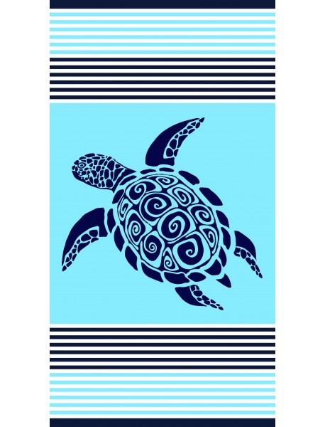 Serviette de plage Cirali Turquoise Turtle