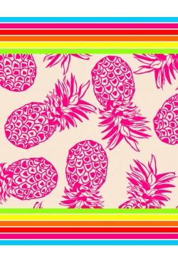 Drap de plage XXL Sunny Ananas