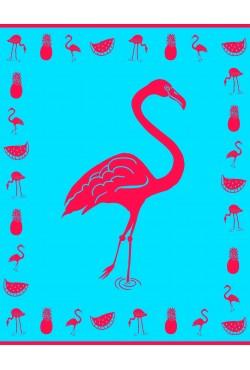Drap de plage XXL Ptaki