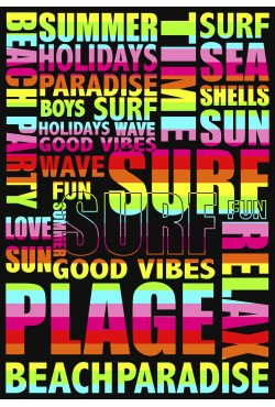 Drap de plage XXL Summer