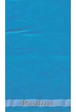 Drap de plage Turquoise + Prénom